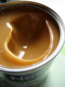 Confiture de lait rapide cocotte-minute