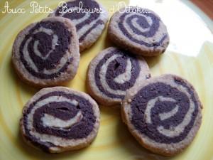 Petits gâteaux spirale