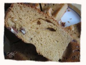 Gâteau auvergnat au vin blanc et noix de pécan