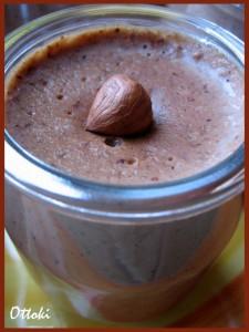 Crème noisette au chocolat