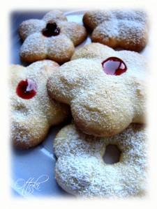 Petits fours aux amandes presse à biscuits