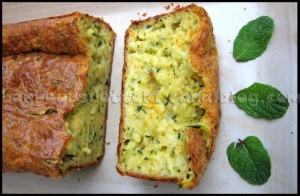 Cake courgette carotte