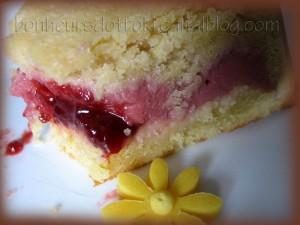 Gâteau basque fraises