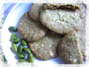cookies pistache choc blanc