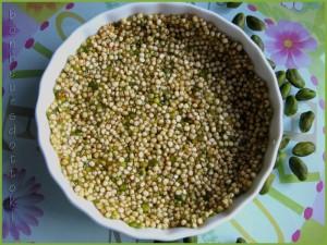 fond de tarte au quinoa