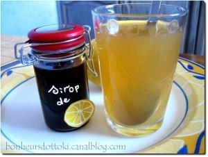 sirop citron