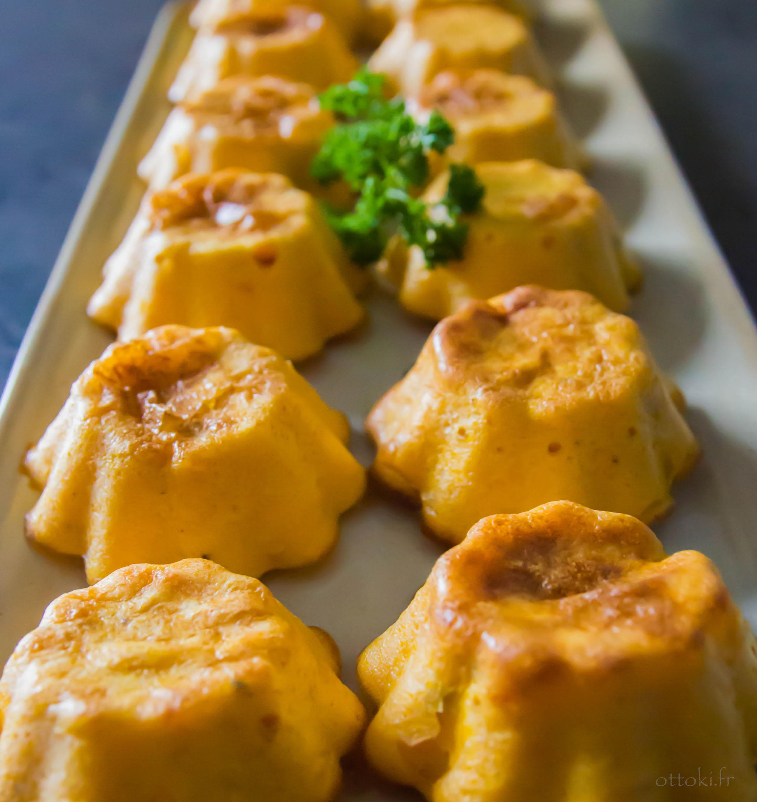 Ottoki flans aux carottes - Cuisiner fanes de carottes ...