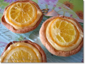 tartelettes orange