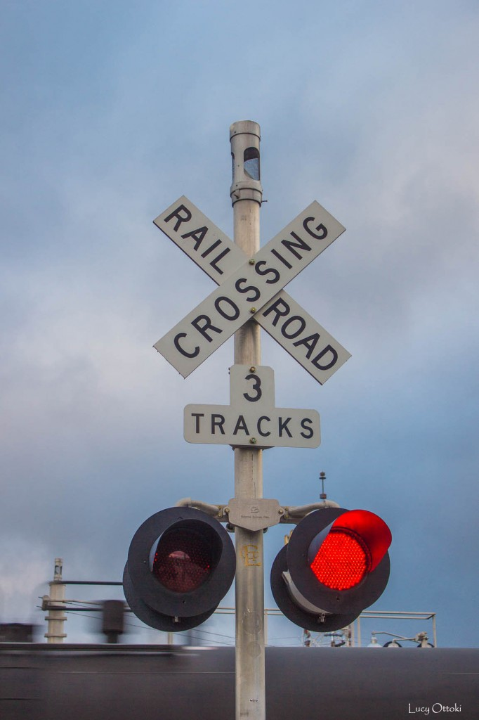 17h36 Flagstaff Arizona railroad crossing