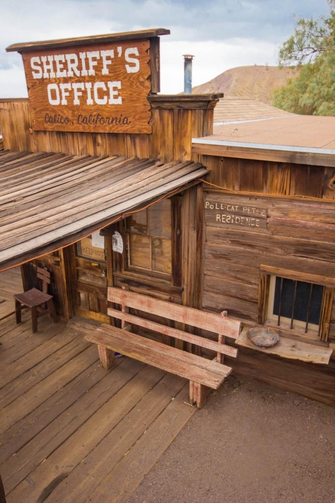 Bureau du sheriff à Calico