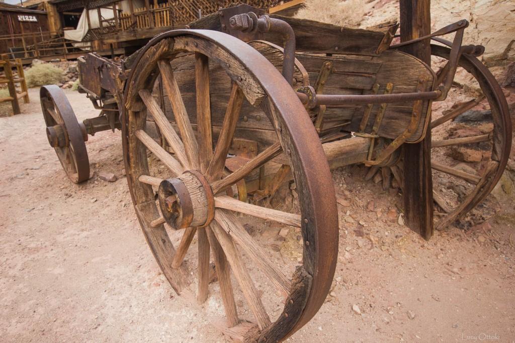 Charrette bois Calico town33