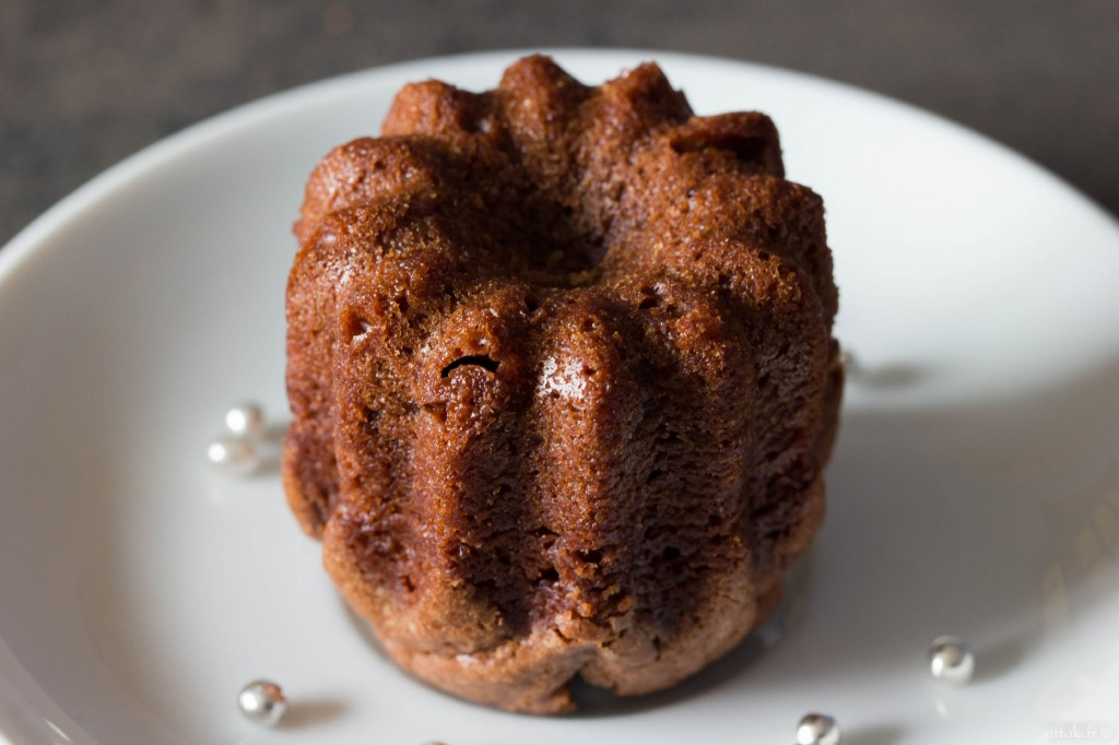 Cannelé chocolat